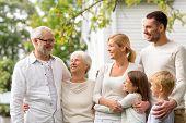 image of grandparent child  - family - JPG