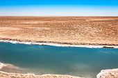 image of tozeur  - Chott el Djerid salt lake in Tunisia Africa - JPG