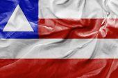 image of bandeiras  - Amazing flag of the state of Bahia Brazil  - JPG