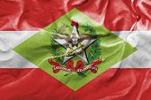 picture of bandeiras  - Amazing flag of the State of Santa Catarina  - JPG