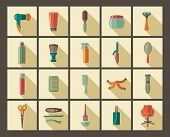 picture of hairspray  - Tools and materials for a hairstyle and colouring of hair - JPG