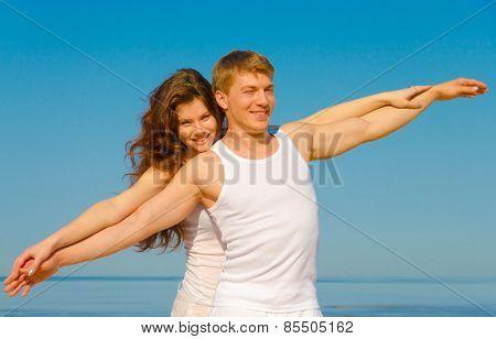 Gymnastics Resort Couple