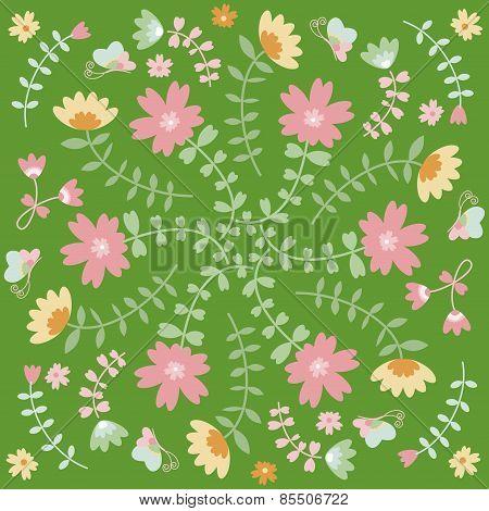 spring flower texture