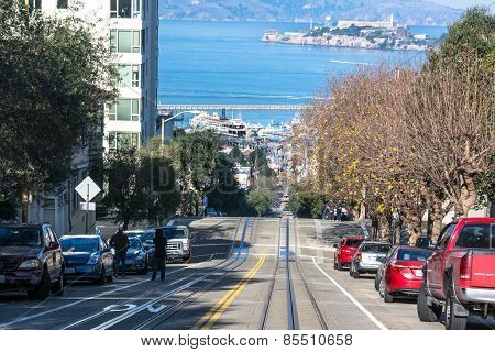 Hyde Street in San Francisco