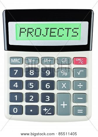 Calculator With Projects