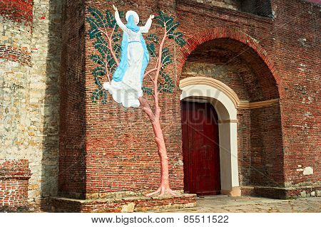 Church Entrance, Philippines