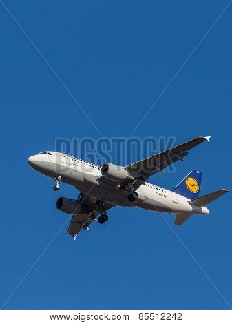Airbus A319-100, Lyufthansa Airlines