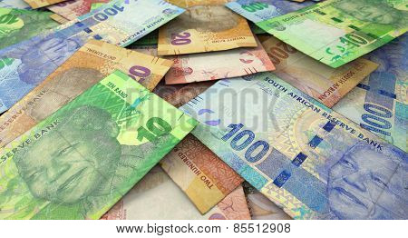 Scattered Banknote Pile