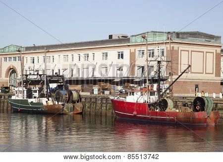 Boston Fishing Boats