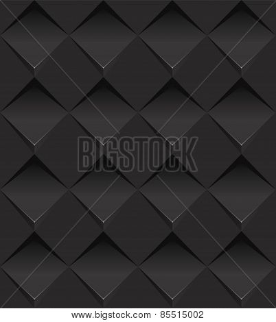 Vector Seamless Pattern. Repeating geometric tiles with rhombus