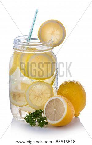 Lemon Infuse Water