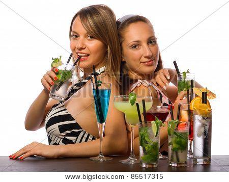 Girls Celebrating