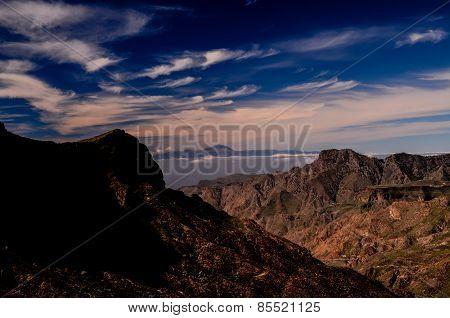View of El Teide Volcan in Tenerife