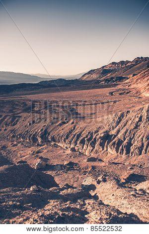 Death Valley Raw Landscape