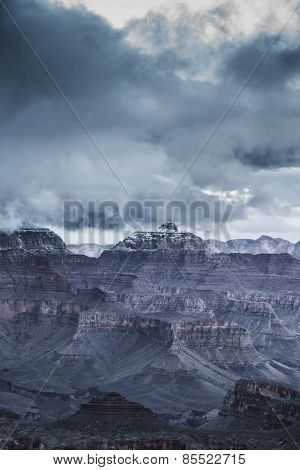 Grand Canyon Winter Scenery