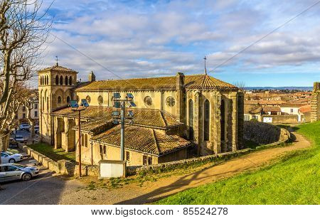 St. Gimer Church In Carcassonne - France