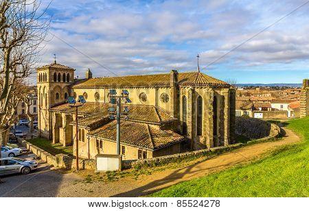 St. Gimer Church In Carcassonne - France