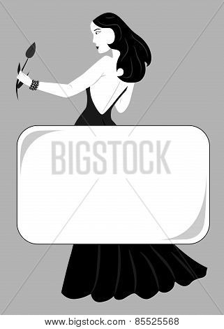 Lady-black