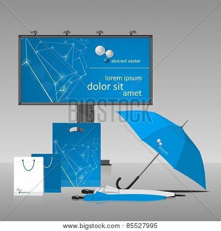 Blue Corporate Style.