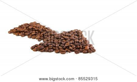 Coffee Beans Arrow