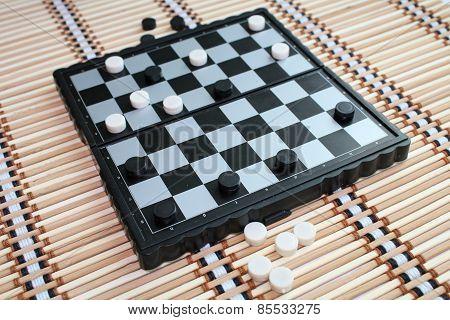 Checkers.