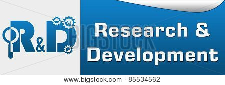 R And D - Research And Development Horizontal
