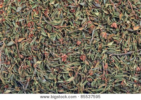 Background Of Dried Herb
