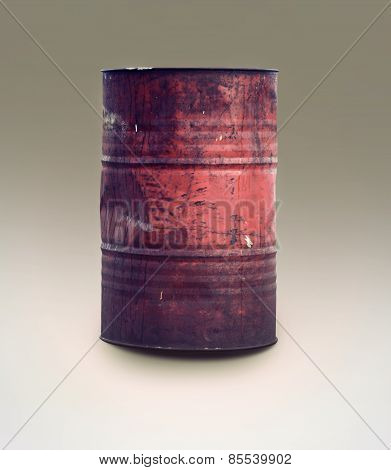 Vintage Oil Barrel