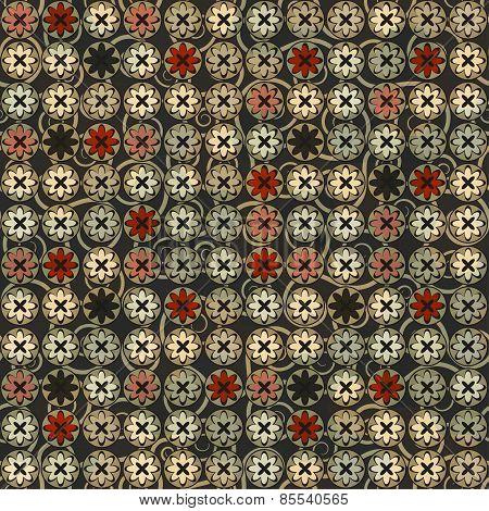 Vintage Flowers Seamless