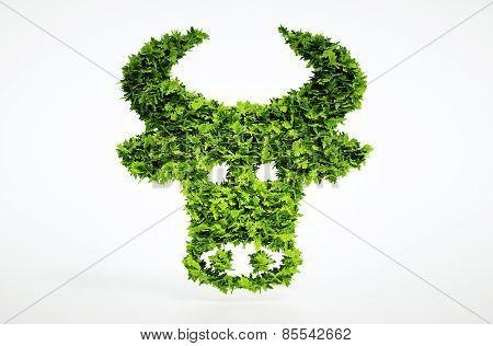 3D Bio Beef Sign.