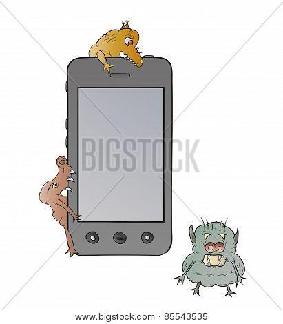 Smartphone And Viruses