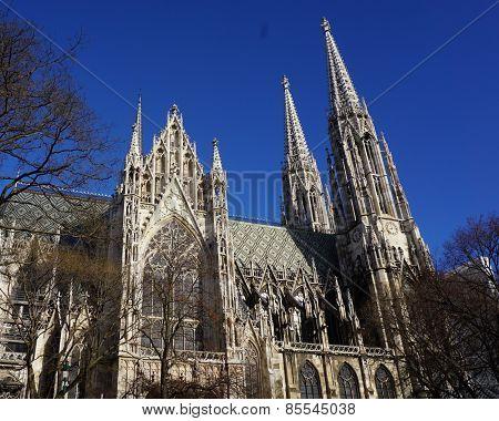 Votiv Church In Vienna