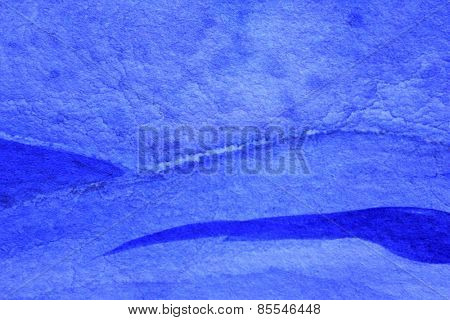 Cobalt Blue Hue Watercolor Background 13