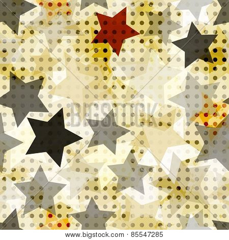 Vintage Star Seamless