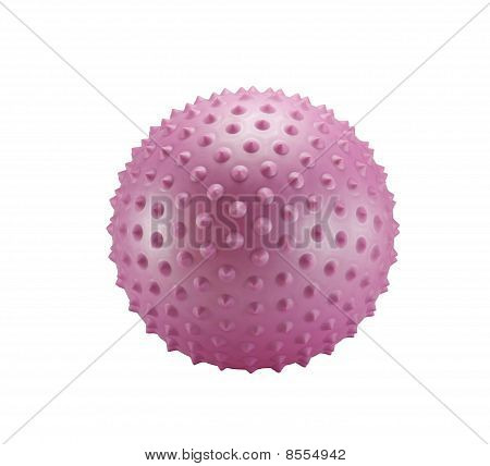 Pink Spiky Ball