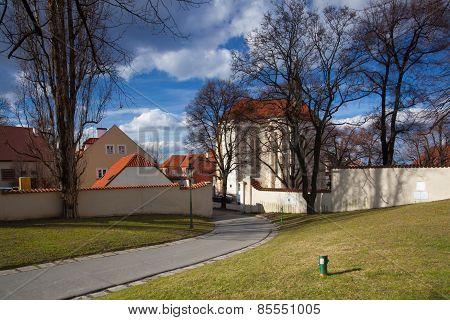 Church Of St. Rochus In Prague Strahov Monastery.