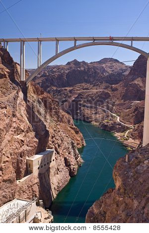Mike O'callaghan - Pat Tillman Memorial Bridge From Hoover Dam