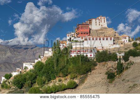 Thiksay Monastery, Ladakh, Jammu And Kashmir, India