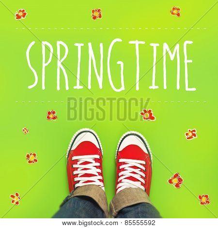 Springtime Concept