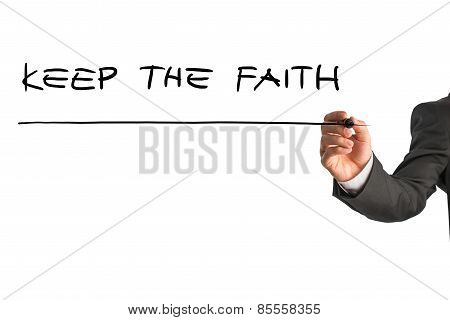 Encouraging Message Keep The Faith