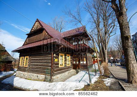 Residential Building, Wooden Villa, Zakopane