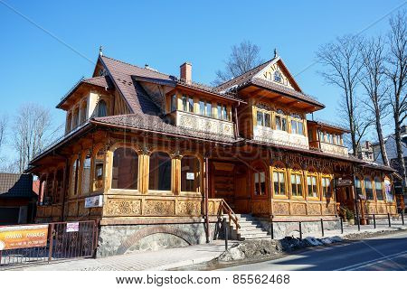 Villa Slimak Formerly Zoska In Zakopane