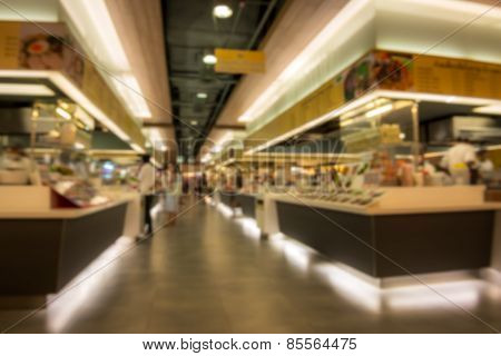 Blur Food Court