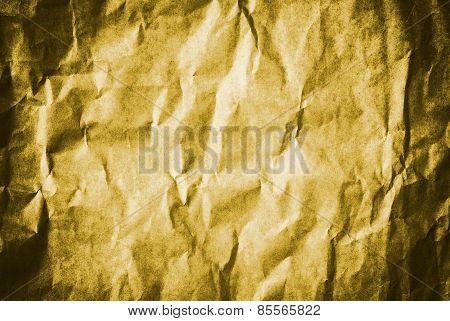 Gold Grunge Vintage Old Paper Background