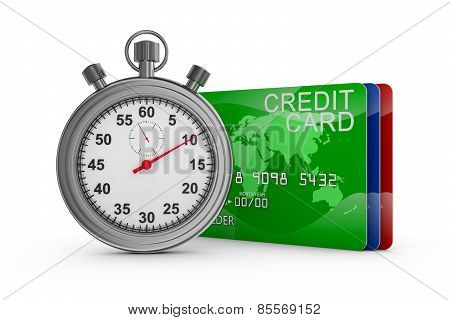 Stopwatch And Credit Cards