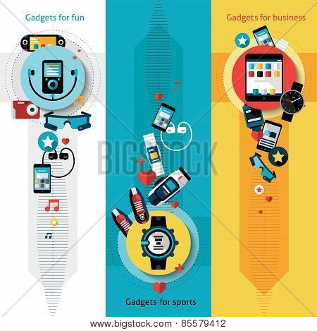 Wearable Technology Banners Vertical