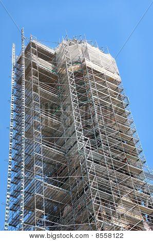 Elaborate scaffolding