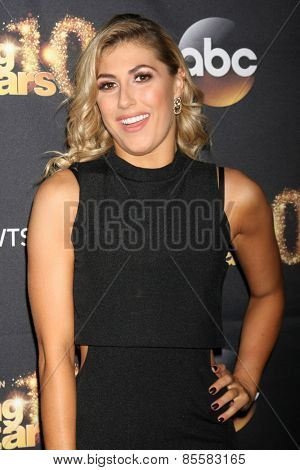 LOS ANGELES - MAR 16:  Emma Slater at the
