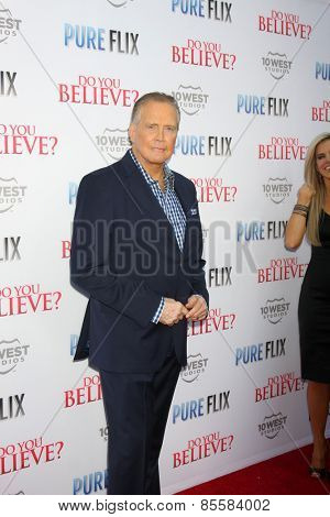 LOS ANGELES - MAR 16:  Lee Majors at the