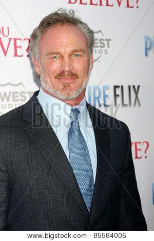 LOS ANGELES - MAR 16:  Brian Bosworth at the